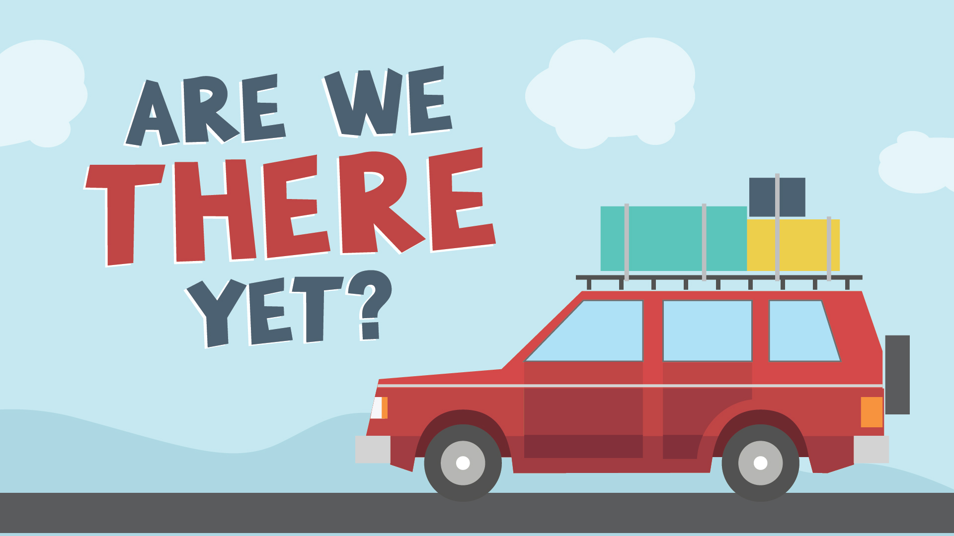 Are We There Yet?: It's Not Enough