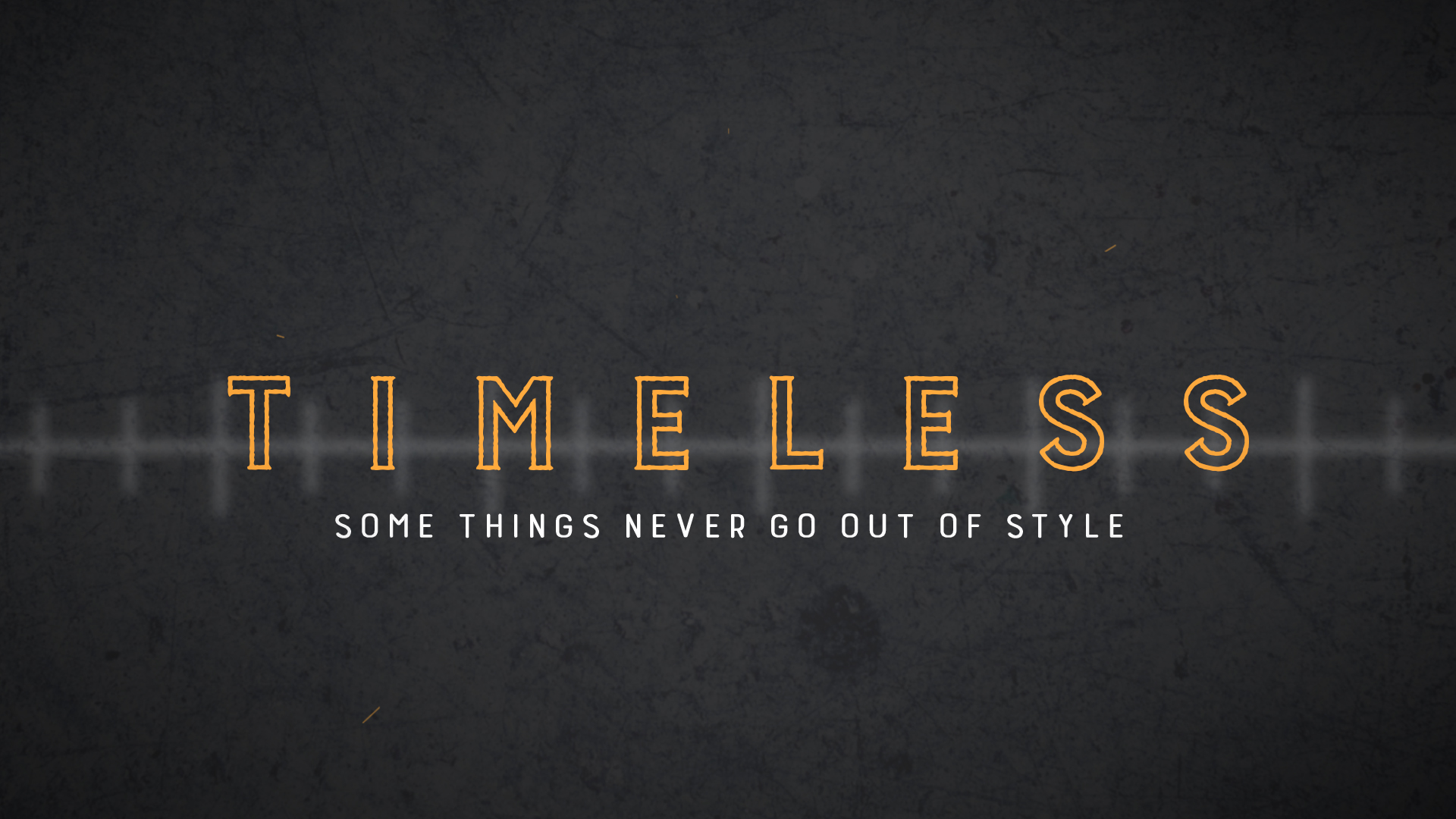 Timeless: God's Word
