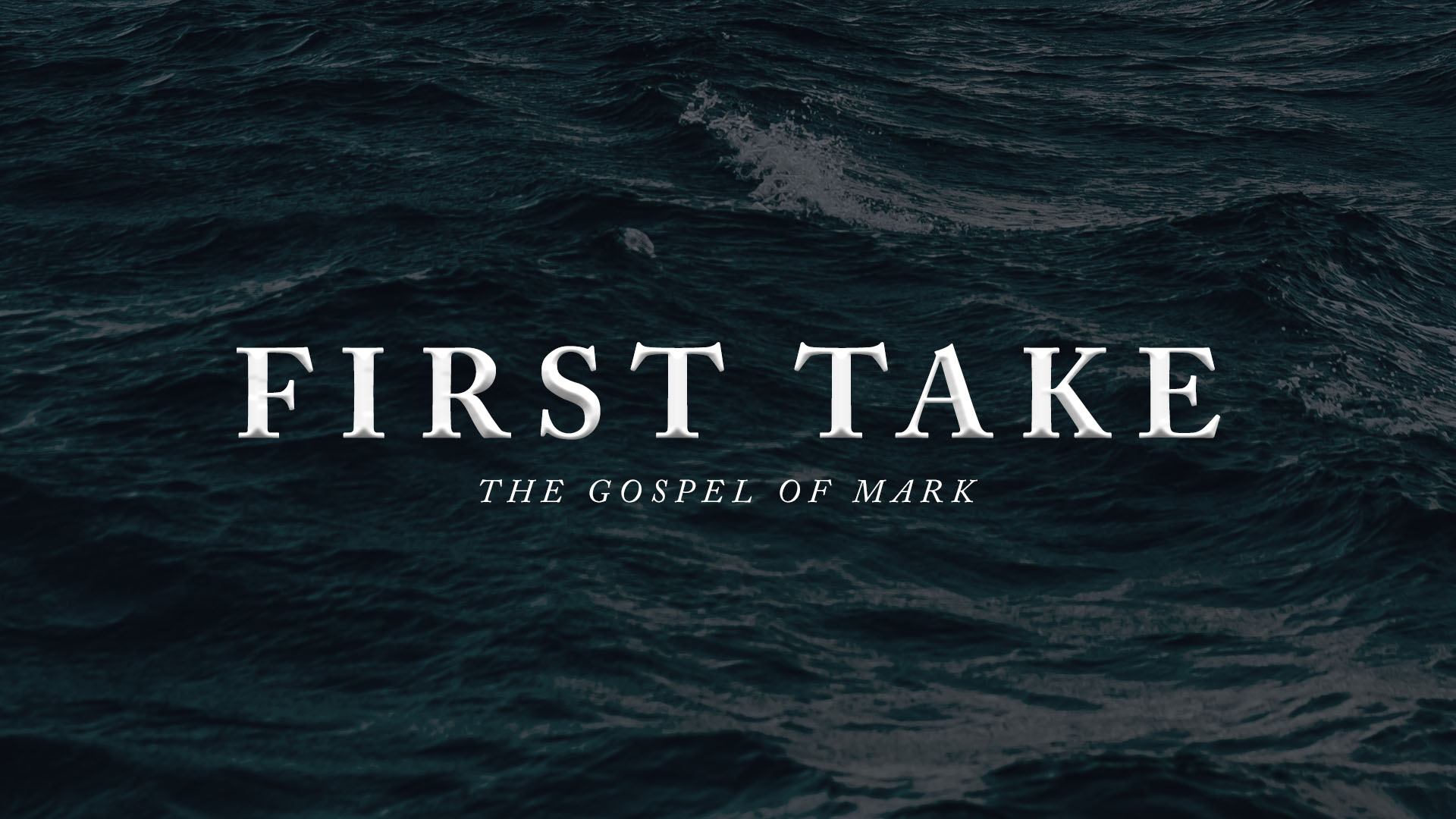 First Take: Lost Focus